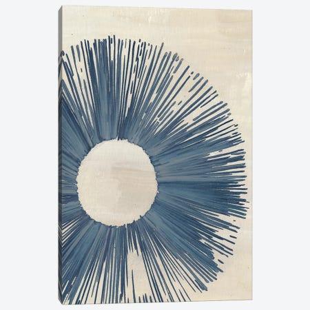 Blue Burst II 3-Piece Canvas #WNG408} by Melissa Wang Canvas Artwork