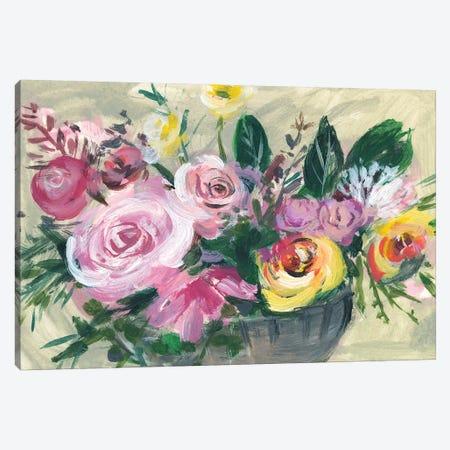 Fleur de Matin I Canvas Print #WNG409} by Melissa Wang Canvas Wall Art