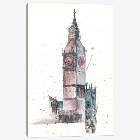 View Of Eiffel IV Canvas Print #WNG40} by Melissa Wang Canvas Art Print