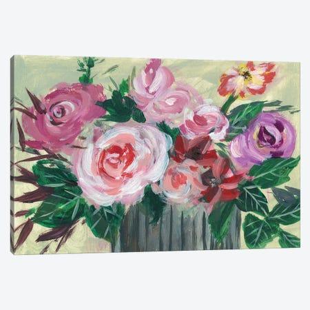 Fleur de Matin II Canvas Print #WNG410} by Melissa Wang Art Print