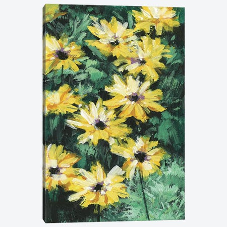 Floral Impressions I Canvas Print #WNG411} by Melissa Wang Canvas Print