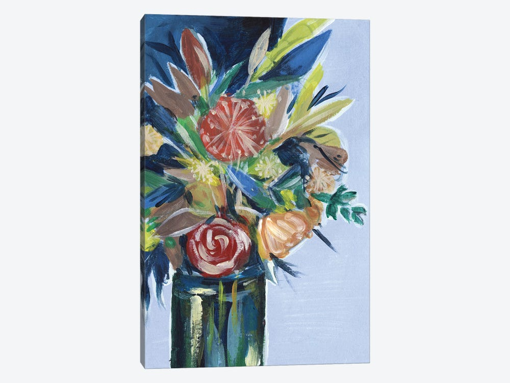 Flowers in a Vase I by Melissa Wang 1-piece Canvas Artwork