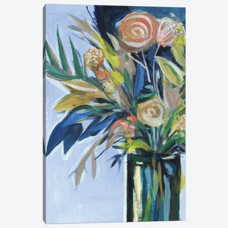 Flowers in a Vase II Canvas Print #WNG416} by Melissa Wang Canvas Art