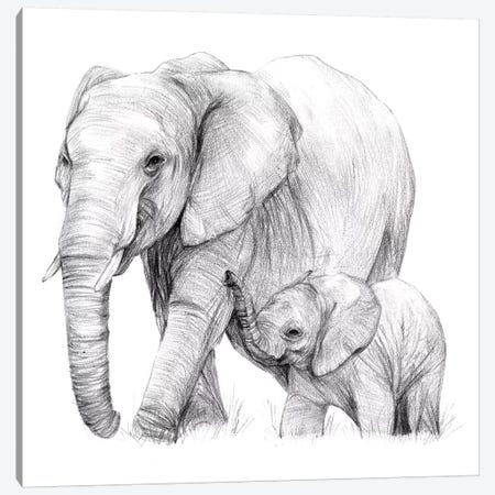New Beginnings I Canvas Print #WNG428} by Melissa Wang Canvas Artwork