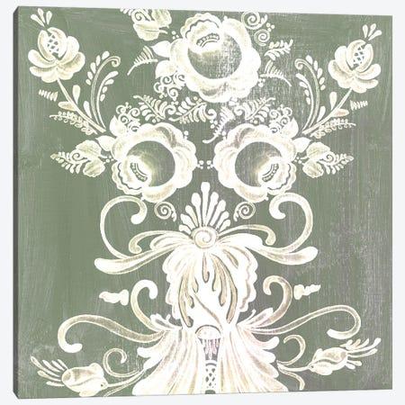 Patinaed Scroll II Canvas Print #WNG431} by Melissa Wang Art Print