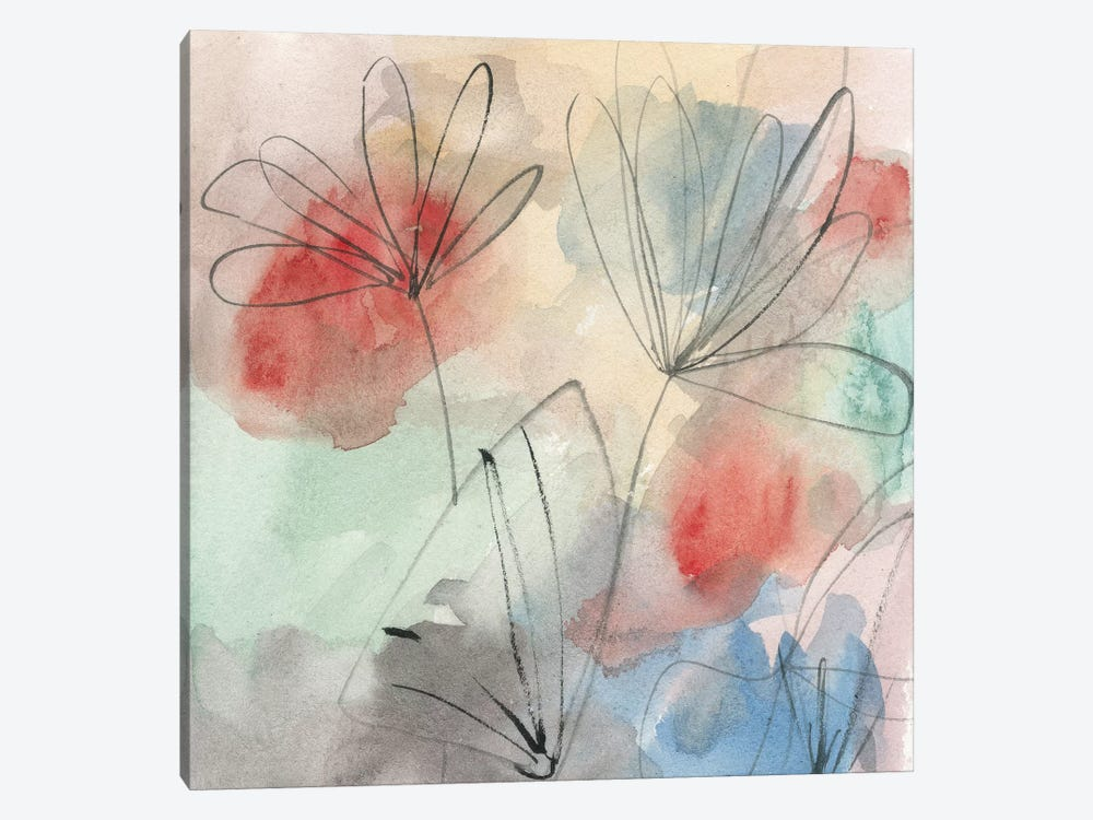 Pond Impression II by Melissa Wang 1-piece Canvas Wall Art