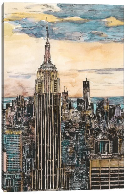 NYC Cityscape Canvas Art Print