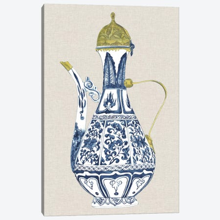 Antique Chinese Vase II Canvas Print #WNG470} by Melissa Wang Art Print