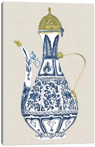 Antique Chinese Vase II Canvas Art Print