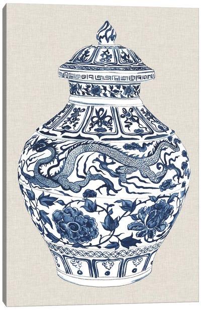 Antique Chinese Vase III Canvas Art Print