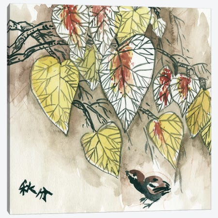 Autumnal I Canvas Print #WNG476} by Melissa Wang Canvas Artwork