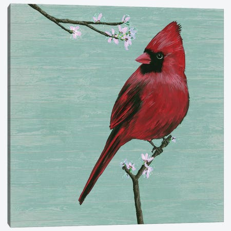 Bird & Blossoms II Canvas Print #WNG479} by Melissa Wang Canvas Print
