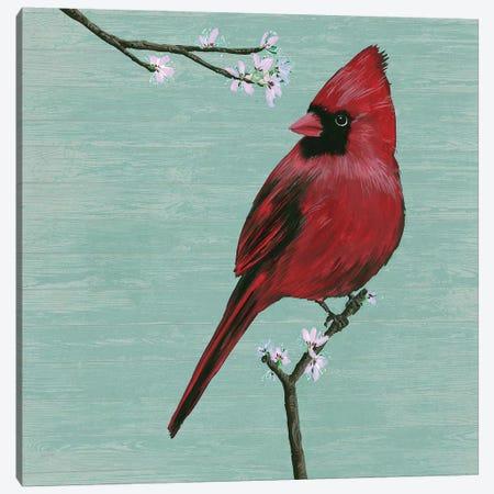 Bird & Blossoms II Canvas Print #WNG479} by Melissa Wang Canvas Print