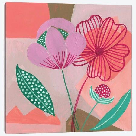 Dancing Bouquet I Canvas Print #WNG484} by Melissa Wang Canvas Art Print