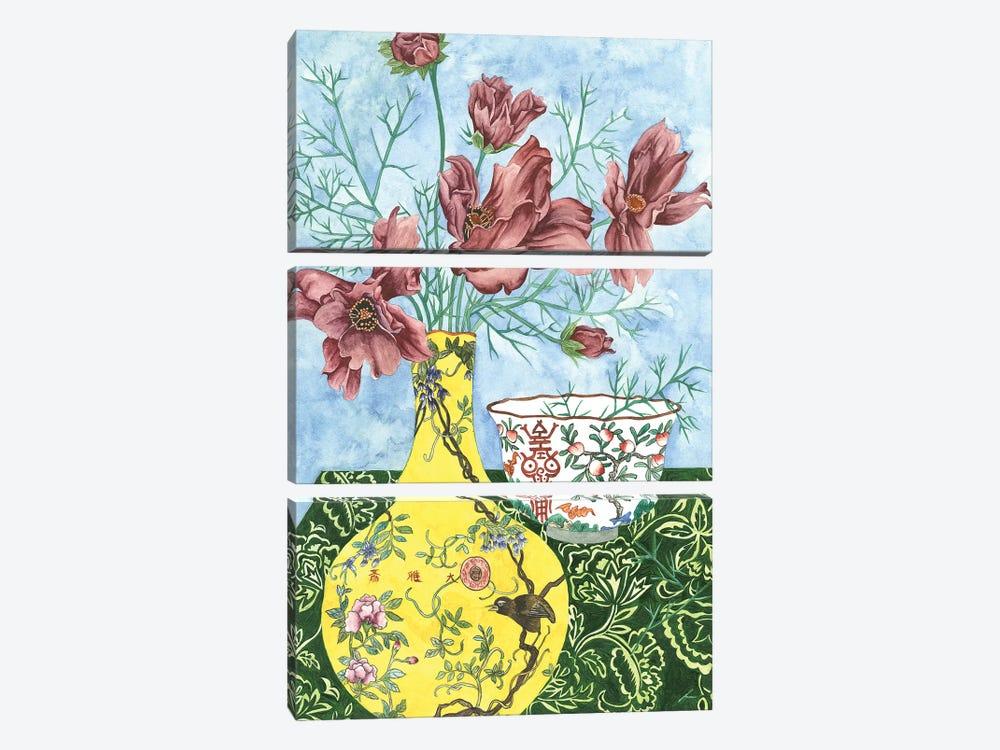 Elegant Arrangement I by Melissa Wang 3-piece Canvas Wall Art