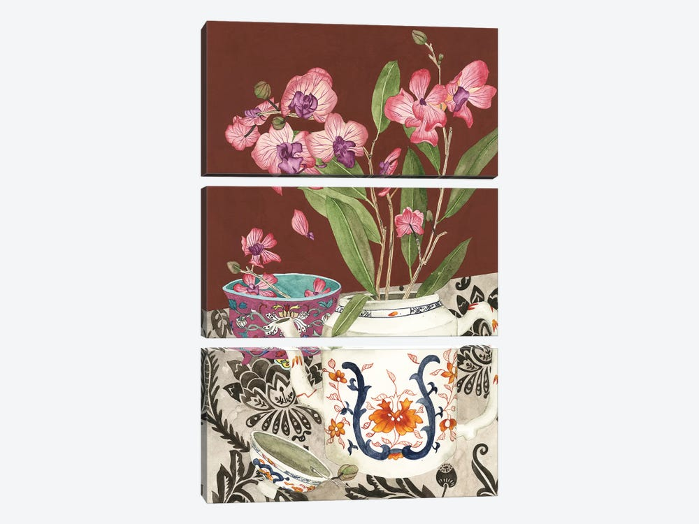 Elegant Arrangement II by Melissa Wang 3-piece Art Print