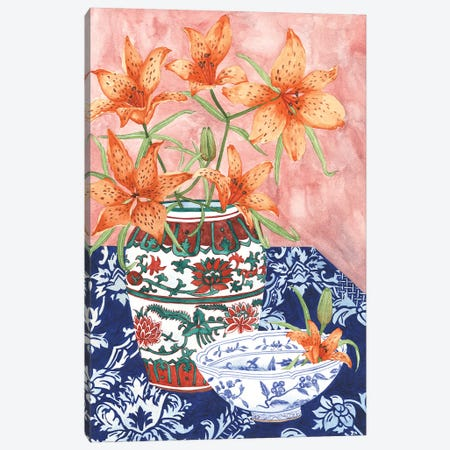 Elegant Arrangement III Canvas Print #WNG490} by Melissa Wang Art Print