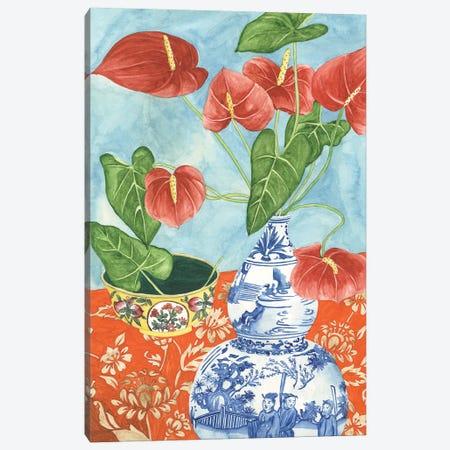 Elegant Arrangement IV Canvas Print #WNG491} by Melissa Wang Canvas Print