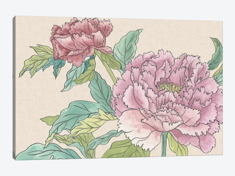 Peony Blooms I by Melissa Wang 1-piece Art Print