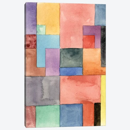 Primary Blocks I Canvas Print #WNG512} by Melissa Wang Canvas Wall Art