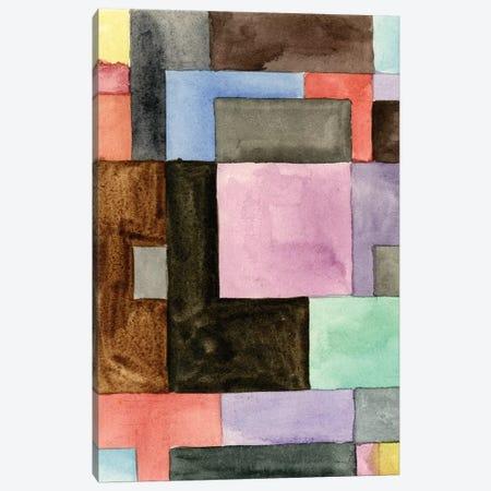 Primary Blocks IV 3-Piece Canvas #WNG515} by Melissa Wang Canvas Art Print
