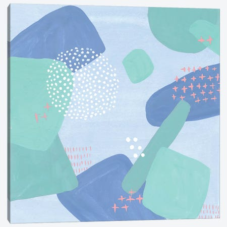 Spaces Between I Canvas Print #WNG518} by Melissa Wang Canvas Artwork