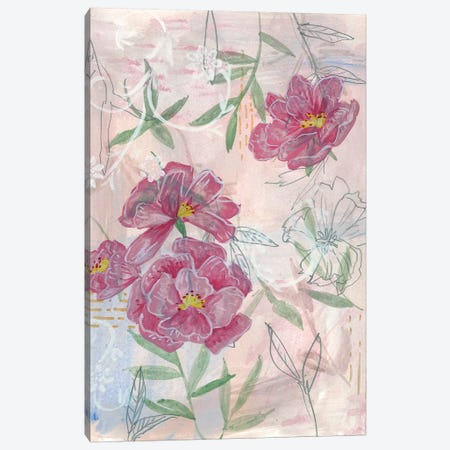 Spring Composition II 3-Piece Canvas #WNG521} by Melissa Wang Art Print