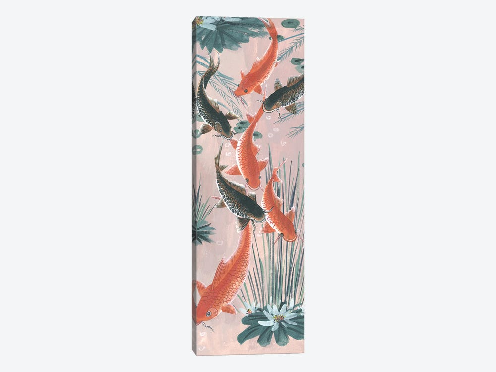 Traditional Koi Pond I by Melissa Wang 1-piece Canvas Art Print