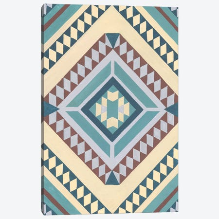 Tribal Structure II Canvas Print #WNG527} by Melissa Wang Canvas Wall Art