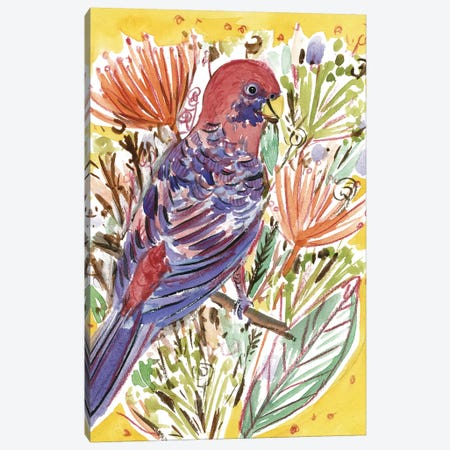 Tropical Portrait I Canvas Print #WNG528} by Melissa Wang Art Print