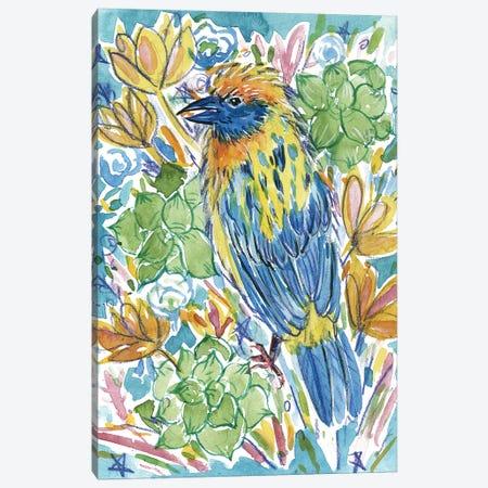 Tropical Portrait II Canvas Print #WNG529} by Melissa Wang Canvas Art Print