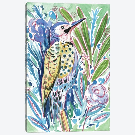 Tropical Portrait III Canvas Print #WNG530} by Melissa Wang Canvas Artwork