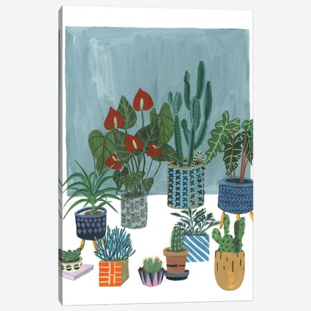 A Portrait Of Plants I Canvas Print #WNG536} by Melissa Wang Art Print