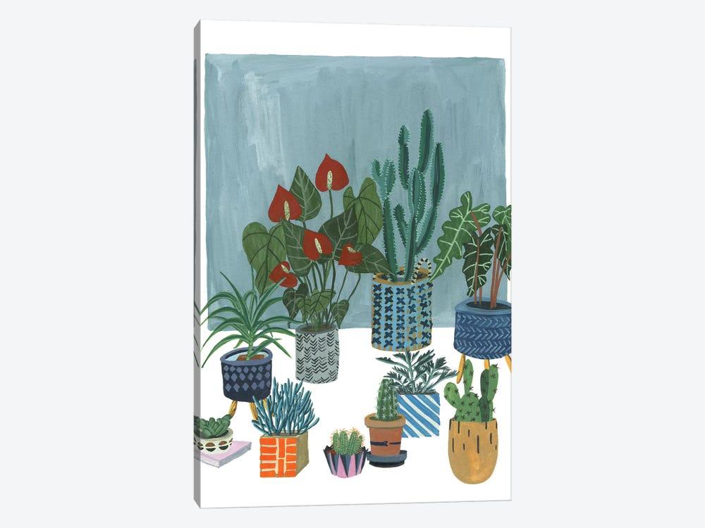 A Portrait Of Plants I by Melissa Wang 1-piece Canvas Art