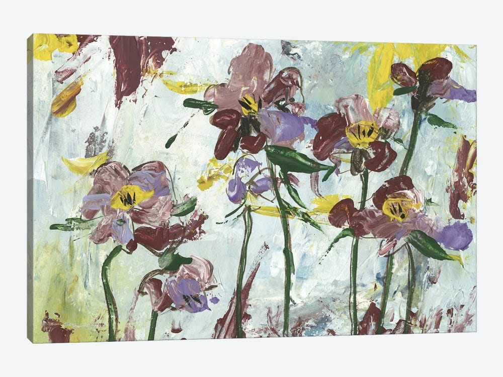 L'orchidee I by Melissa Wang 1-piece Canvas Art