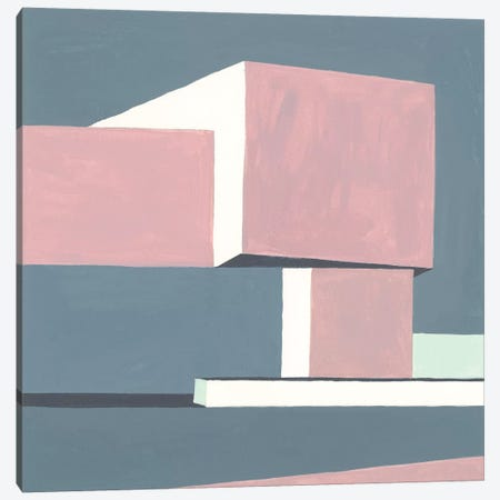 Shadow Of The Walls IV Canvas Print #WNG543} by Melissa Wang Canvas Print