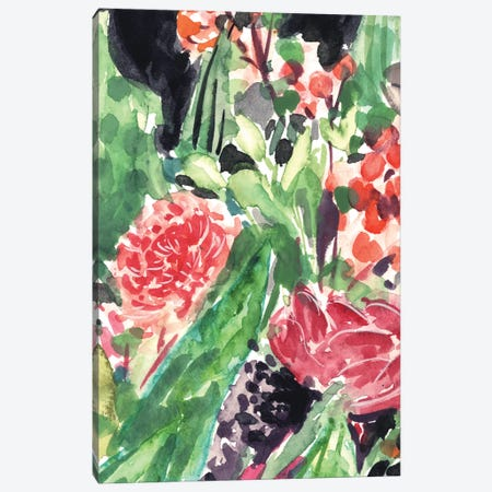 Garden Fest I Canvas Print #WNG552} by Melissa Wang Canvas Artwork