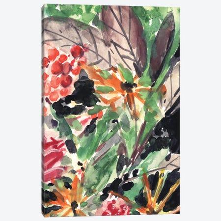 Garden Fest II Canvas Print #WNG553} by Melissa Wang Canvas Wall Art