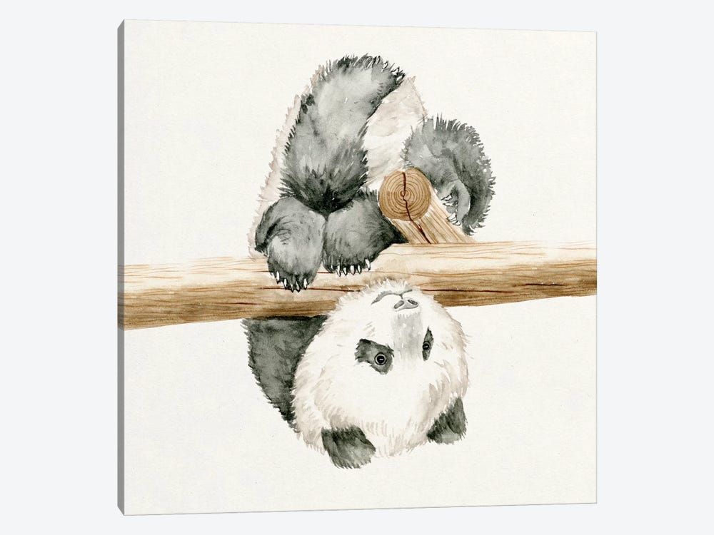 Baby Panda II by Melissa Wang 1-piece Canvas Art Print