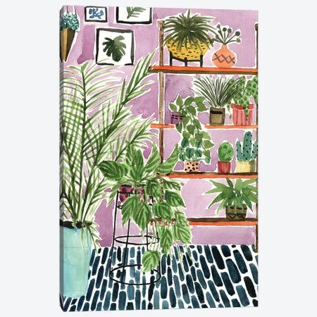 Way to the Jungle II Canvas Print #WNG573} by Melissa Wang Canvas Artwork
