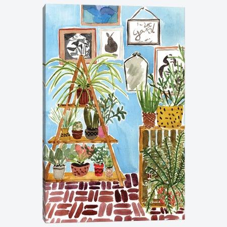 Way to the Jungle III Canvas Print #WNG574} by Melissa Wang Canvas Print