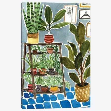 Way to the Jungle IV Canvas Print #WNG575} by Melissa Wang Art Print