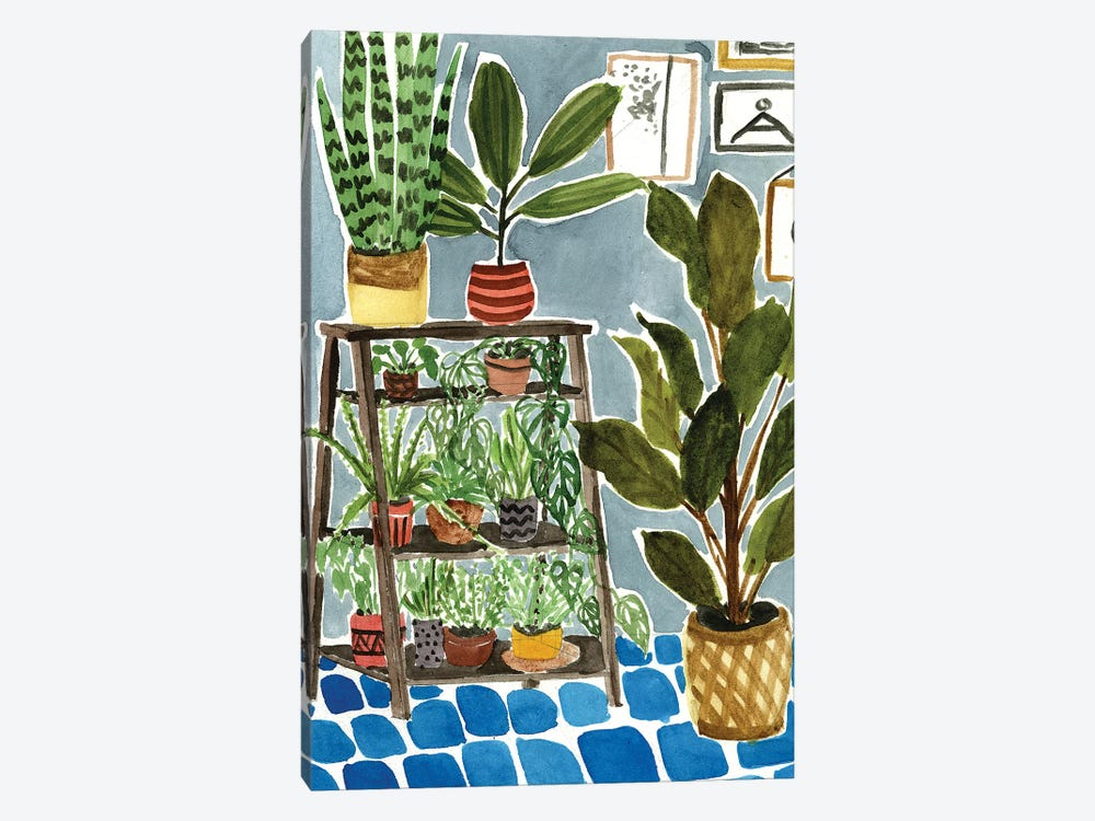 Way to the Jungle IV by Melissa Wang 1-piece Art Print