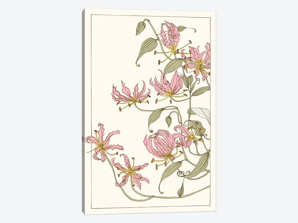 Botanical Gloriosa Lily I by Melissa Wang 1-piece Canvas Artwork