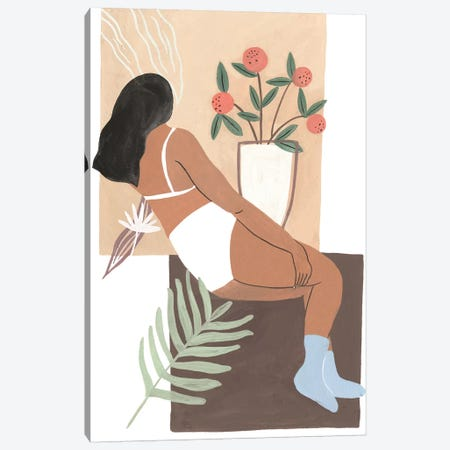 Lying Woman III Canvas Print #WNG583} by Melissa Wang Canvas Art Print
