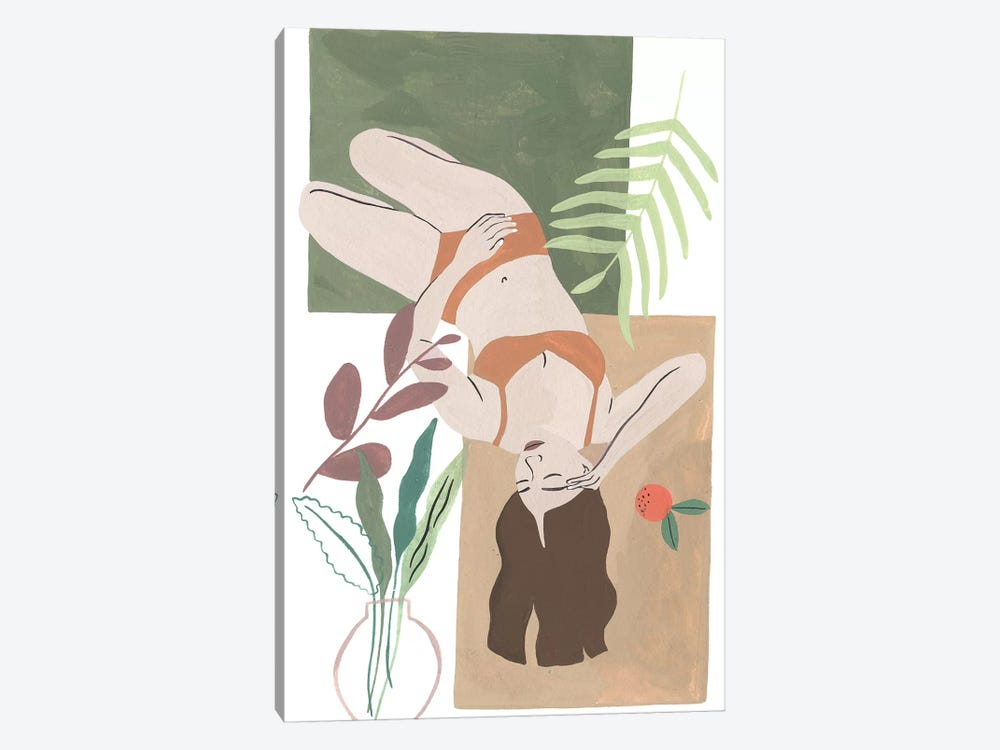 Lying Woman IV by Melissa Wang 1-piece Canvas Art Print