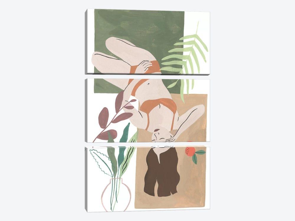 Lying Woman IV by Melissa Wang 3-piece Art Print