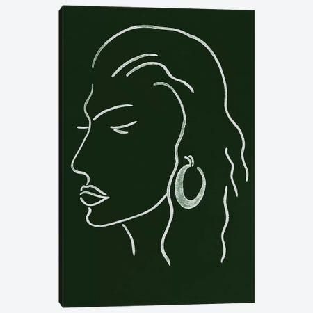Malachite Portrait III Canvas Print #WNG587} by Melissa Wang Canvas Art