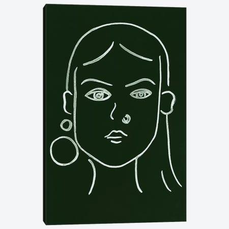 Malachite Portrait IV Canvas Print #WNG588} by Melissa Wang Canvas Art Print