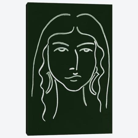 Malachite Portrait VI Canvas Print #WNG590} by Melissa Wang Canvas Artwork